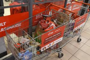 SDG 2 Zero hunger - collecting products for Tallinn Food Bank